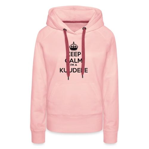 Kuudere keep calm - Women's Premium Hoodie