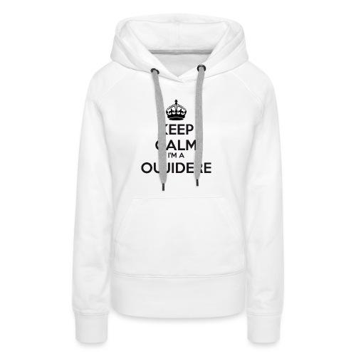 Oujidere keep calm - Women's Premium Hoodie