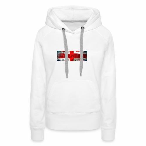 Inline Hockey Great Britain - Sweat-shirt à capuche Premium pour femmes
