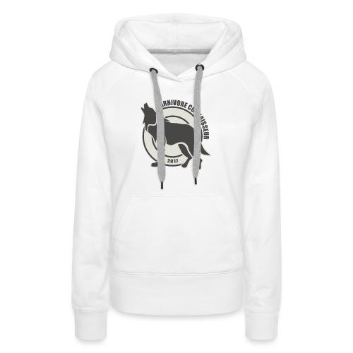 Fleischfresser - Grillshirt - Der mit dem Wolf heu - Frauen Premium Hoodie