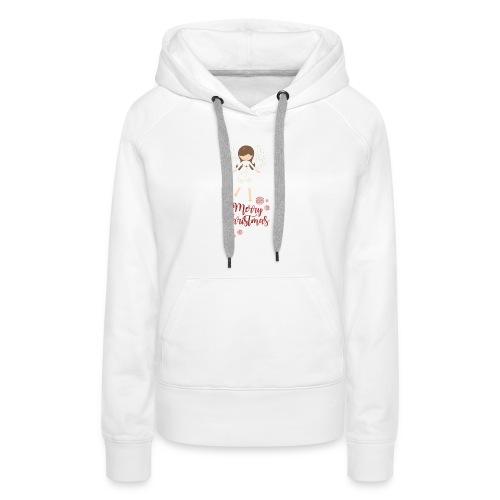 Weihnachtstasse - Frauen Premium Hoodie