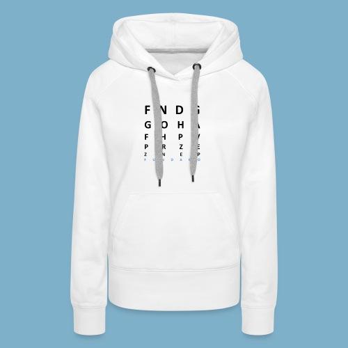 Fundago Label Motiv - Frauen Premium Hoodie