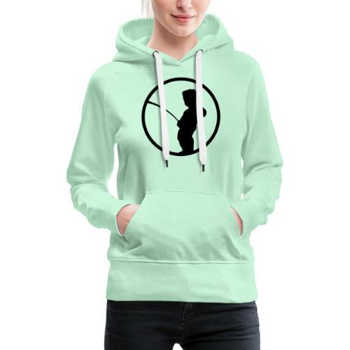 Manneke Pis - Sweat-shirt à capuche Premium pour femmes