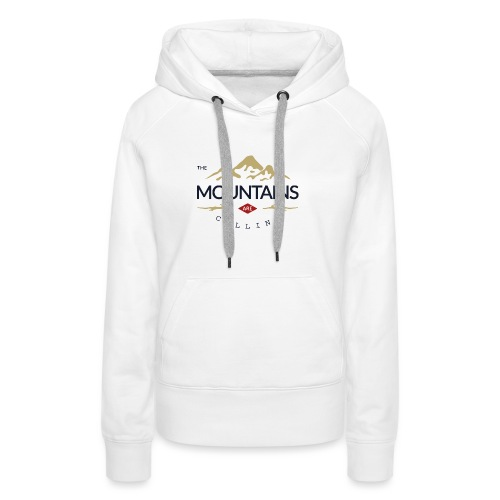 Outdoor mountain - Sweat-shirt à capuche Premium pour femmes