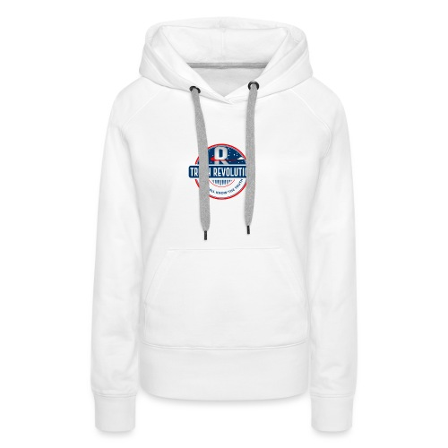 Truth Revolution Official Logo T-Shirt - Women's Premium Hoodie