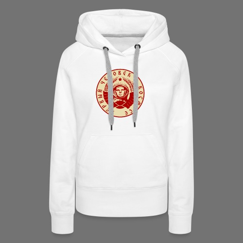 Cosmonaut 2c - Women's Premium Hoodie
