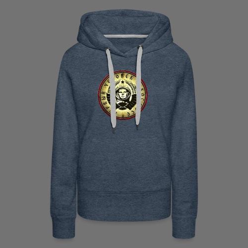 Cosmonaut 4c retro (oldstyle) - Women's Premium Hoodie