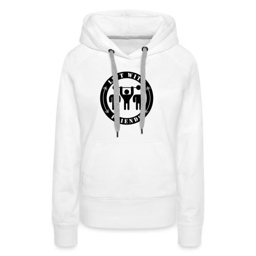 Lift with friends - Frauen Premium Hoodie