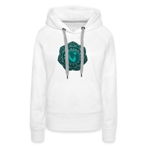 Tête d'aigle - Sweat-shirt à capuche Premium pour femmes