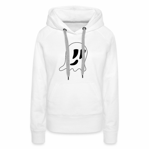 Cartoon Ghost - Women's Premium Hoodie