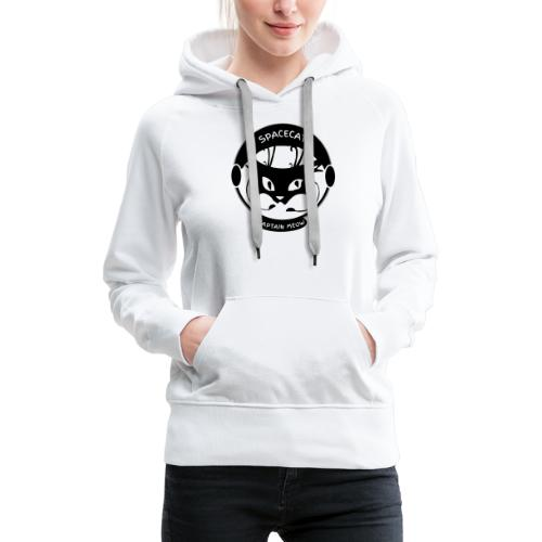 Spacecat Captain Meow - Frauen Premium Hoodie