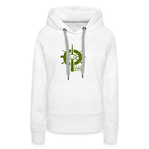 Echochamber Logo grün - Frauen Premium Hoodie