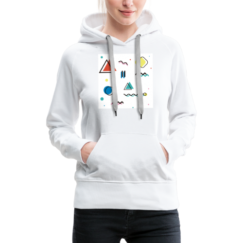 Abstract geometry - Women's Premium Hoodie