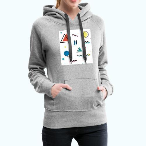 Abstract geometry - Women's Premium Hoodie