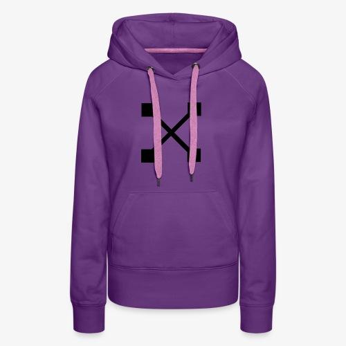 X BLK - Frauen Premium Hoodie