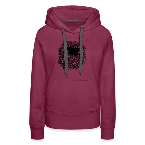 Leaves Bounoz by www.mata7ik.com - Sweat-shirt à capuche Premium pour femmes