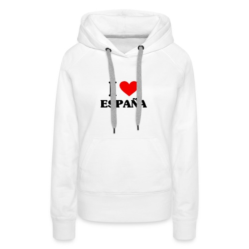 I love Espana - Frauen Premium Hoodie