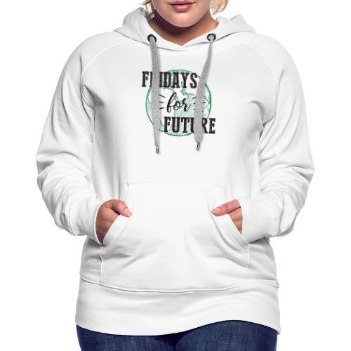 Fridays for Future - Frauen Premium Hoodie