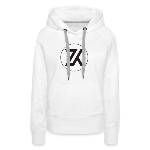Z-K tryck (Zahid Khayree) - Premiumluvtröja dam