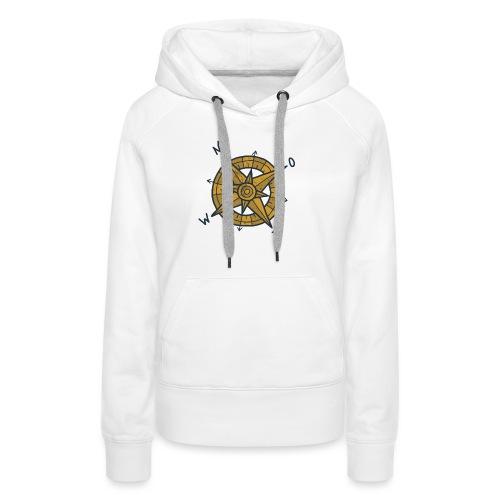 compas - Vrouwen Premium hoodie