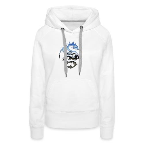 Dragon Metal - Sweat-shirt à capuche Premium pour femmes