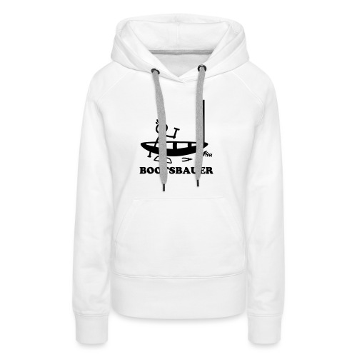 Bootsbauer - Strichmännchen - Frauen Premium Hoodie