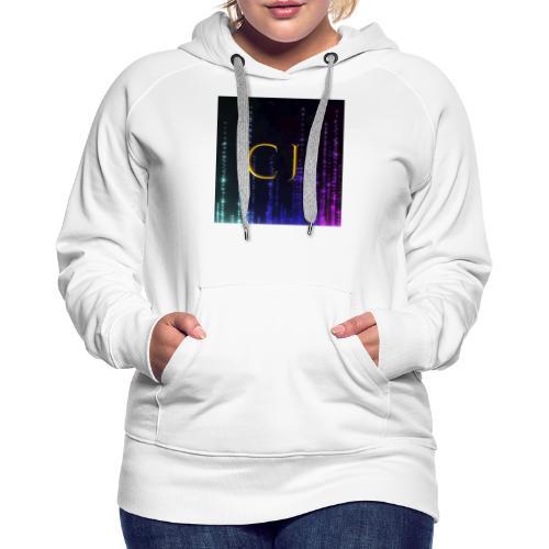 CJ Logo Merchandise - Dame Premium hættetrøje
