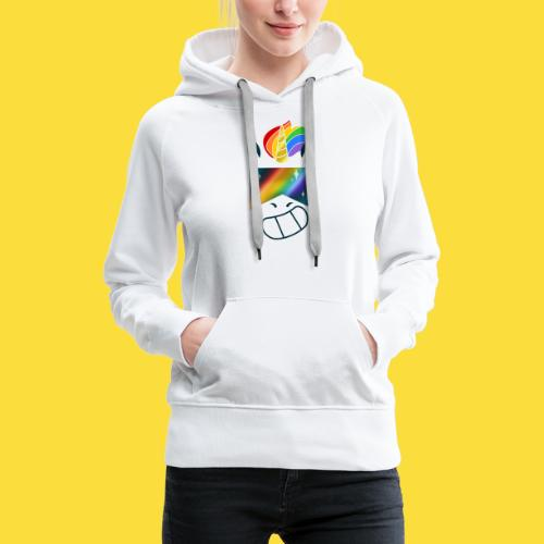 Bob la licorne ( spécial marche des fiertés) - Sweat-shirt à capuche Premium pour femmes
