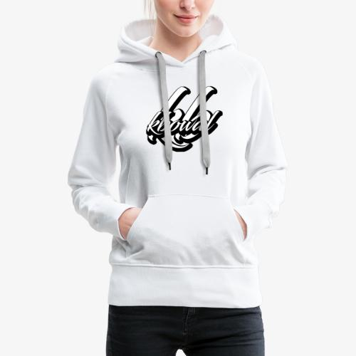 KBOWAL2019 1 - Sweat-shirt à capuche Premium pour femmes
