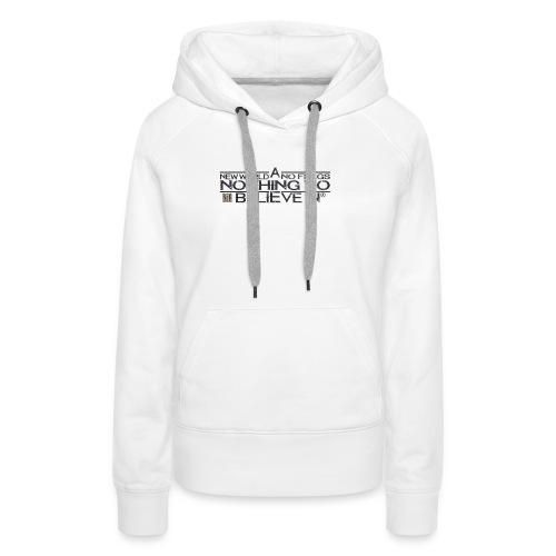 Official My Way Shirt - Frauen Premium Hoodie