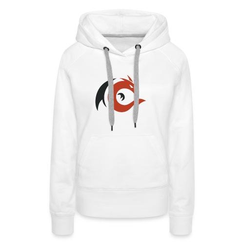 logo elbakin - Sweat-shirt à capuche Premium pour femmes