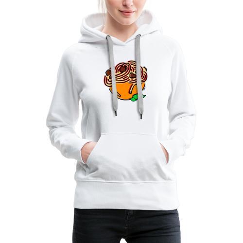 Bol de Spaghetti - Sweat-shirt à capuche Premium pour femmes