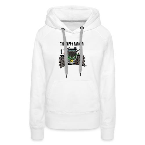 the happy farmer green - Vrouwen Premium hoodie