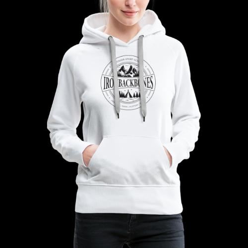 Outdoor-Sport-Schule IRONBACKBONES - schwarz - Frauen Premium Hoodie