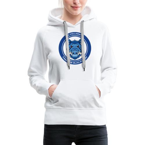 Blau Passiv Fanclub Logo - Frauen Premium Hoodie