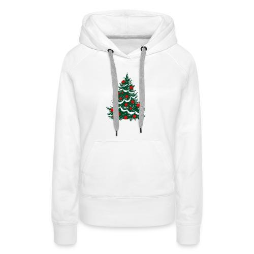 christmas tree - Women's Premium Hoodie
