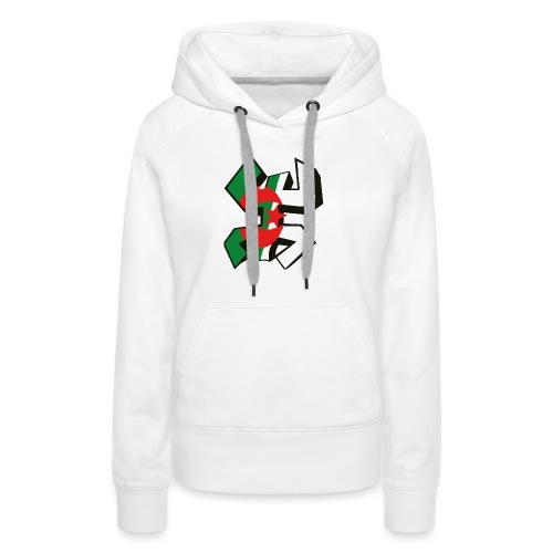 algérien - Sweat-shirt à capuche Premium pour femmes