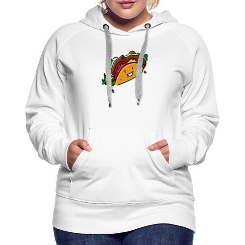 Glücklicher Taco - Frauen Premium Hoodie