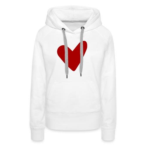 f15 - Sweat-shirt à capuche Premium pour femmes