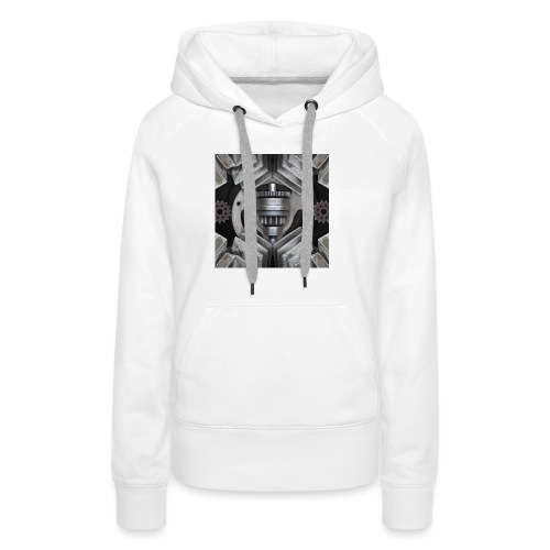metalen motor onderdelen - Vrouwen Premium hoodie