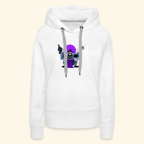 Panda Barman - Sweat-shirt à capuche Premium pour femmes