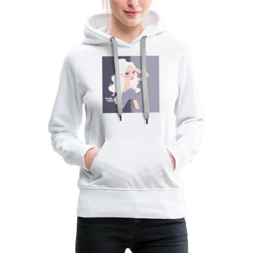 Princesse Anna Bella - Sweat-shirt à capuche Premium pour femmes