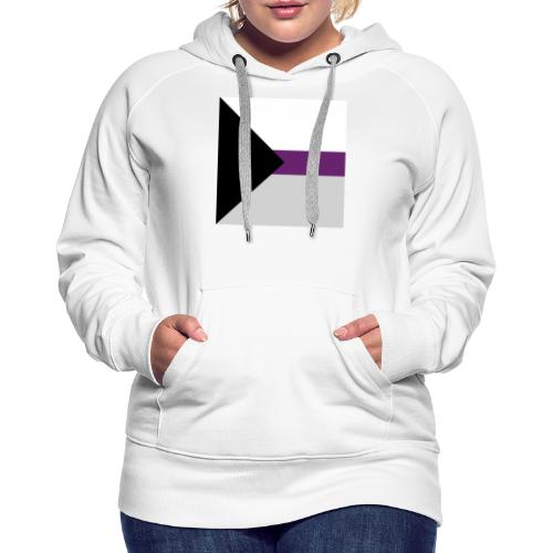 Demisexuell Flagge - Frauen Premium Hoodie