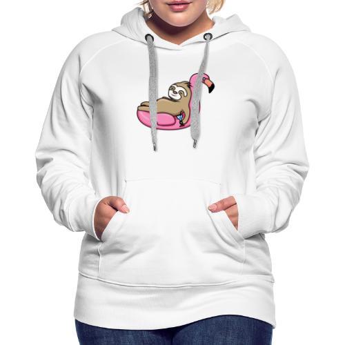 Faultier - Frauen Premium Hoodie