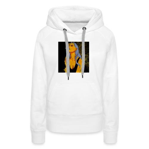 Girl next - Sweat-shirt à capuche Premium pour femmes