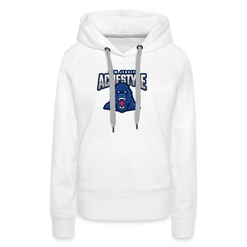New Jersey - Sweat-shirt à capuche Premium pour femmes