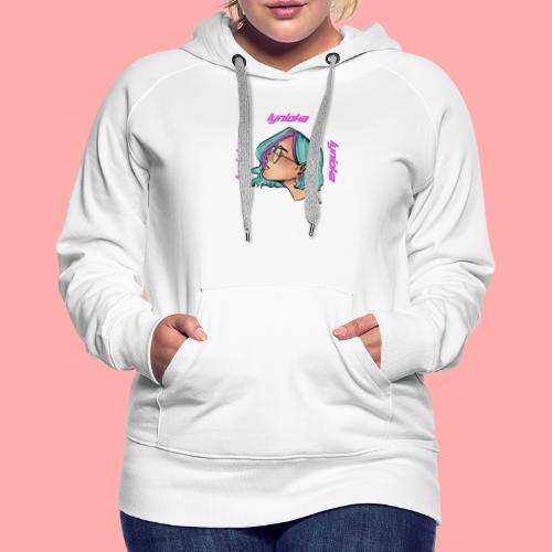 Lynioka Purple Up - Sweat-shirt à capuche Premium pour femmes