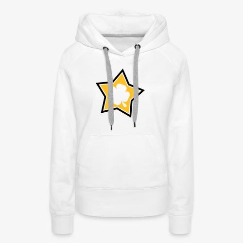 Lucky Star 1 - Sweat-shirt à capuche Premium pour femmes