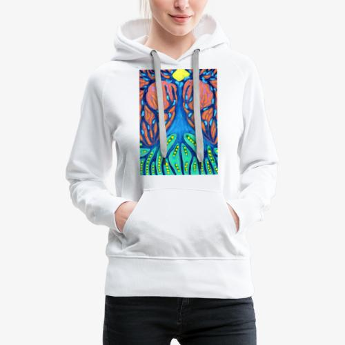 Drapieżne Drzewo - Bluza damska Premium z kapturem