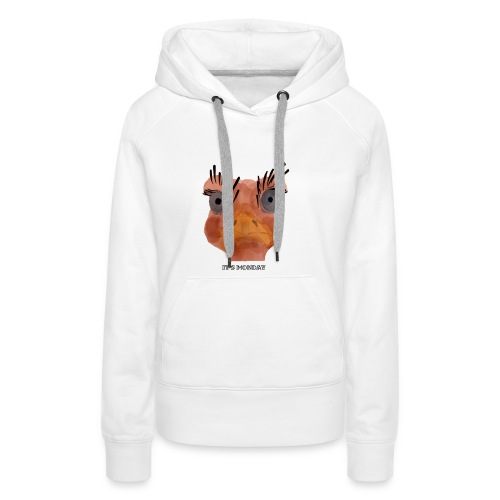Srauss, again Monday, English writing - Women's Premium Hoodie